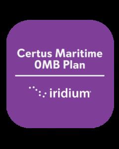 Iridium Certus Maritime 0MB Plan