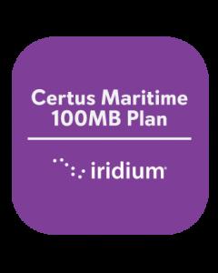 Iridium Certus Maritime 100MB Plan